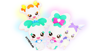 [MMD] Heartcatch fairies!