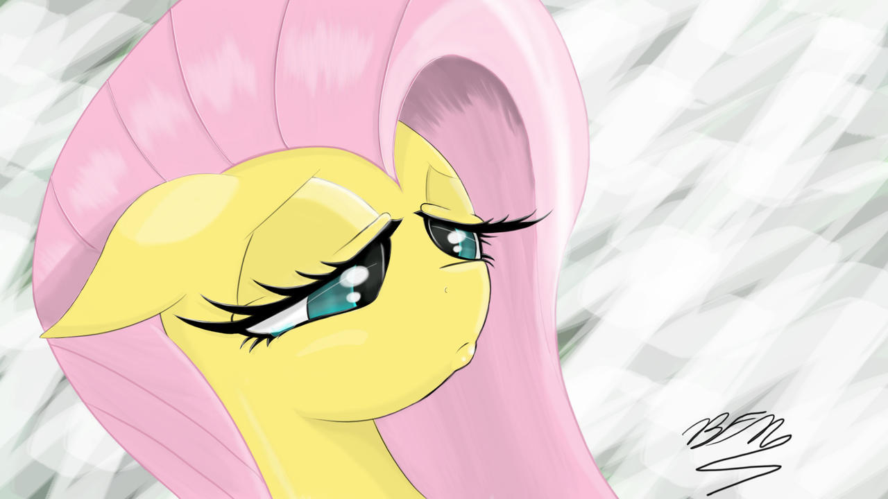 Fluttershy Portrait by Falco9998