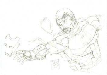 Iron Man Pencils