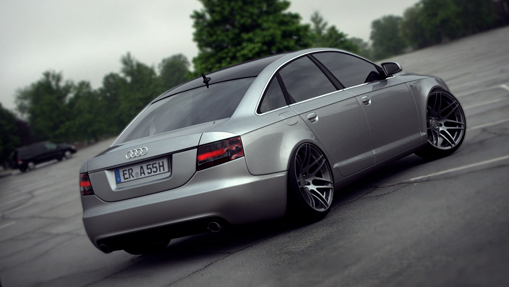 audi a6 by spittty on deviantart. Black Bedroom Furniture Sets. Home Design Ideas