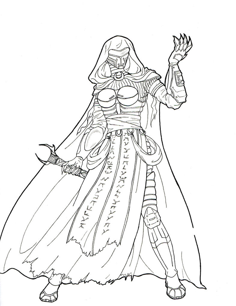 Darth Vader Coloring Pages Colored Allredy