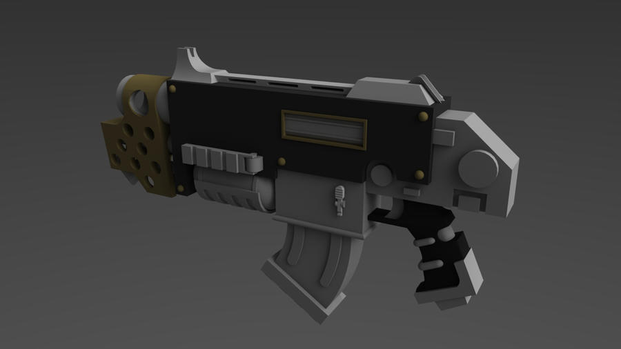 Warhammer 40K Combi-Flamer 2 by ClaireGrube