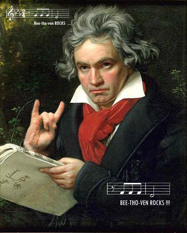 beethoven rocks by matrie666 on DeviantArt
