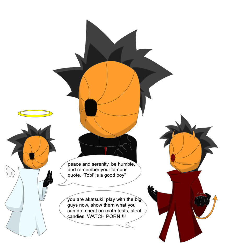 tobi's conscience by niaryusuke