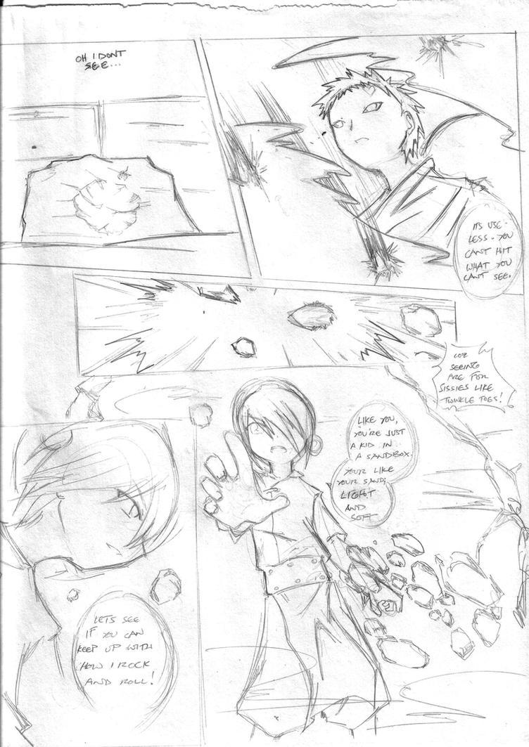 Toph vs Gaara pg6 by niaryusuke