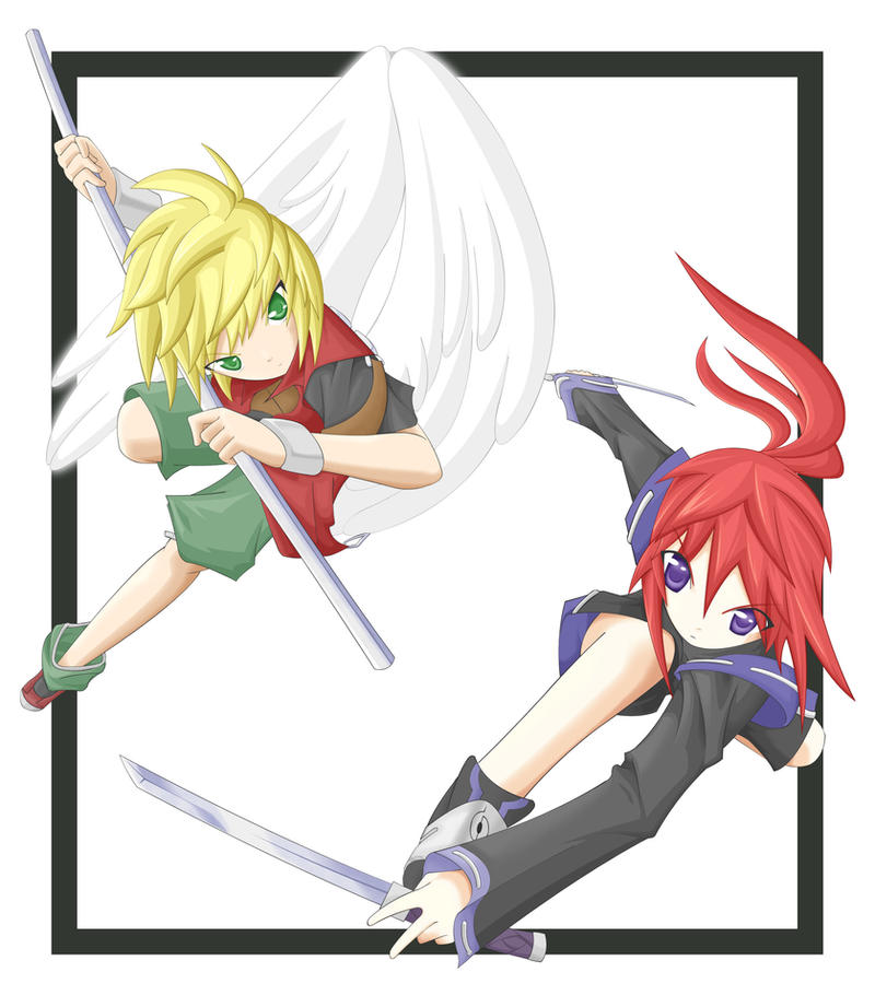 Ryusuke-Foex partnership by niaryusuke