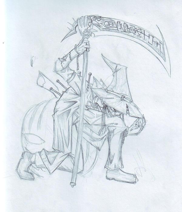 Scarecrow by niaryusuke
