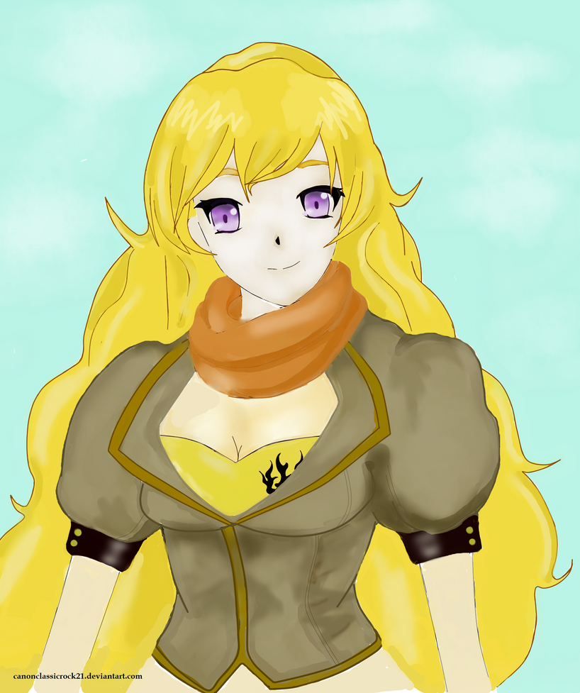 Yang Xiao Long Wallpaper: RWBY- Yang Xiao Long By Krissmas3 On DeviantArt