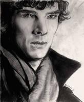 Benedict Cumberbacth a.k.a Sherlock Holmes by krissmas3