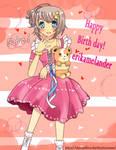 Happy Birthday erikamelander