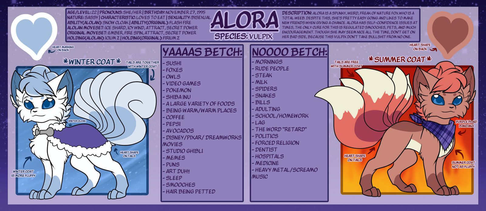 Aloras Pokesona Ref By Foxroddraws On Deviantart