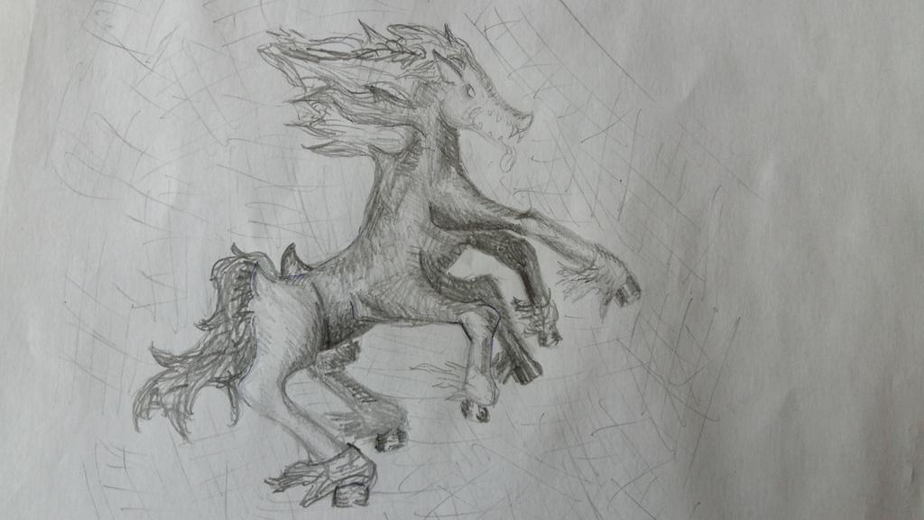 Horsehead demon by behappyenJOY