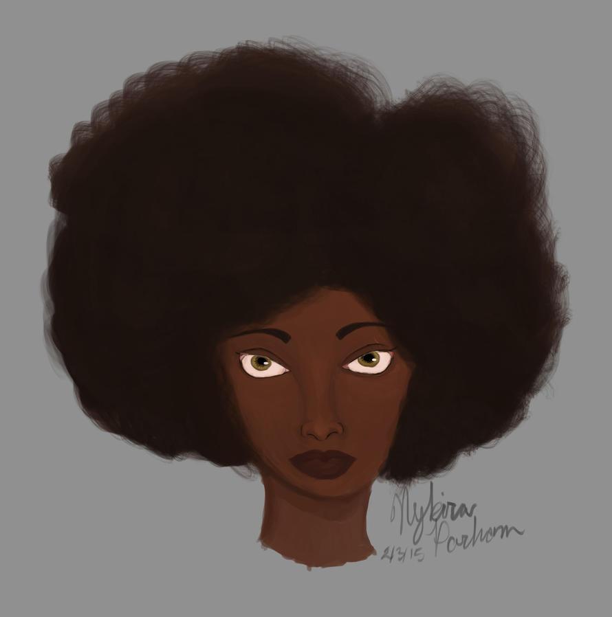 Hazel Afro by hk4ever