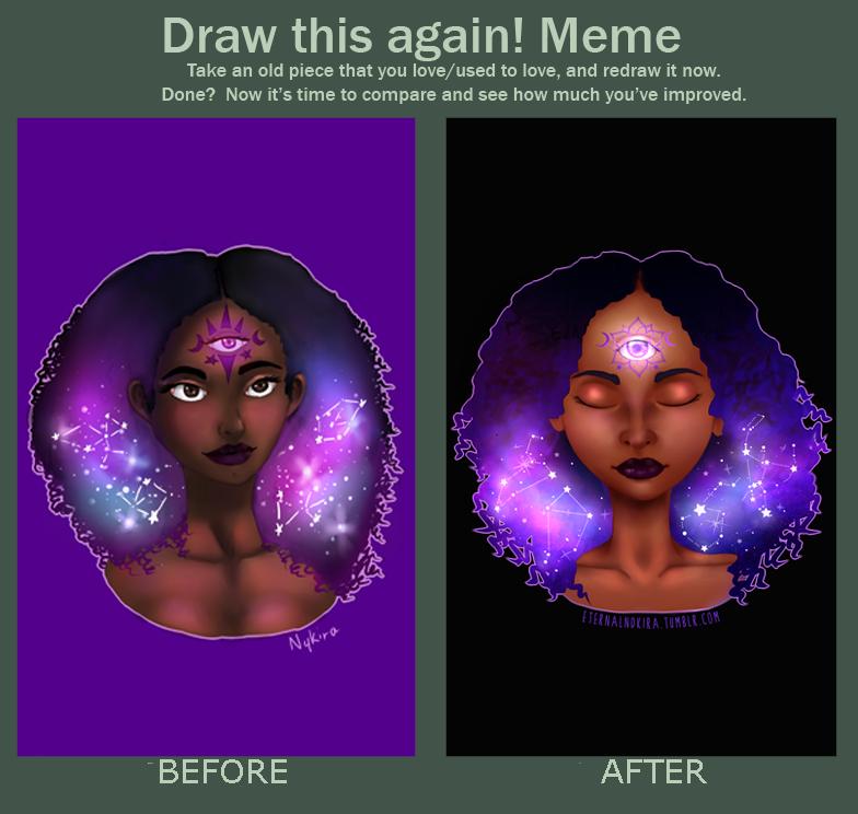 Draw This Again Meme - Nimisha by Eternal2ndKira