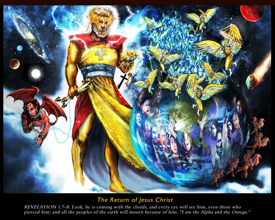 The Return of Jesus Christ by superadaptoid