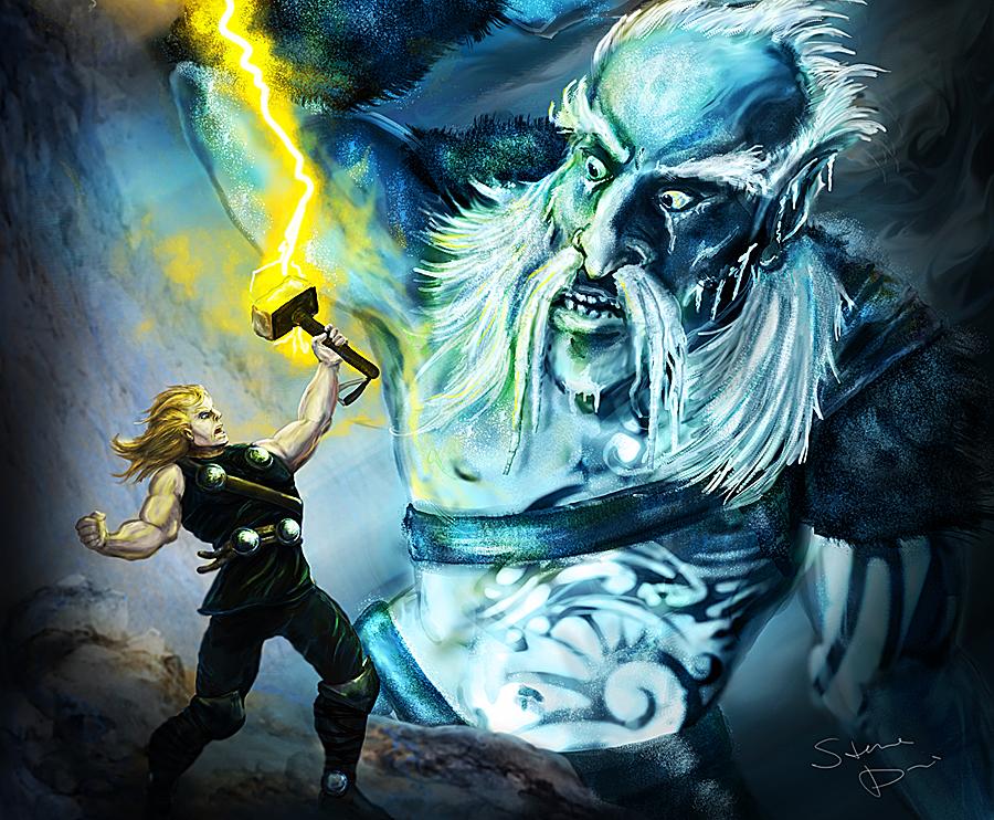 'Thor' Vistazo a uno de los Gigantes de Hielo! - Taringa!