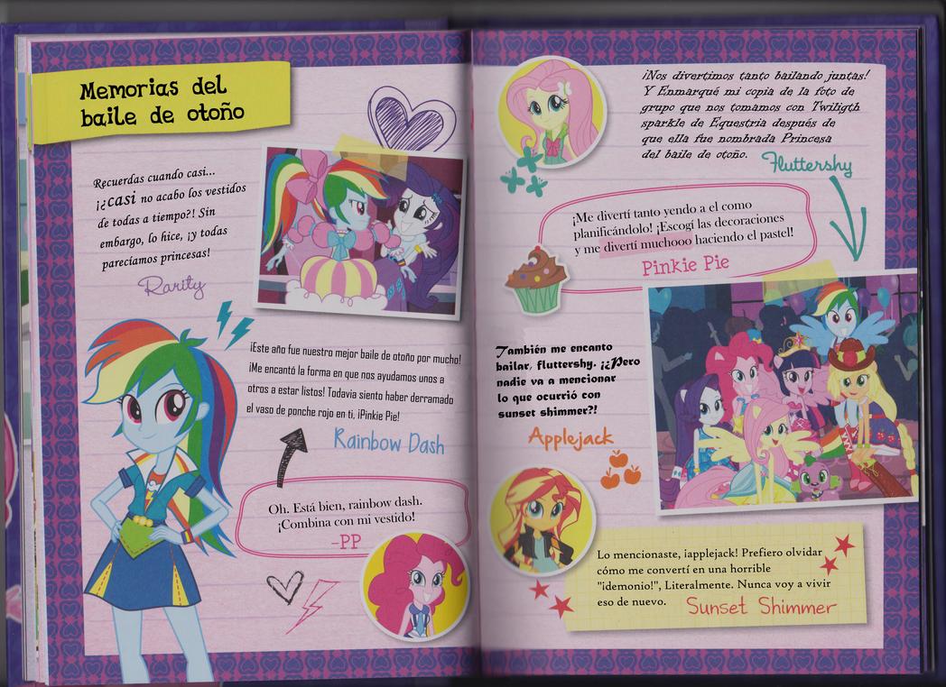 My Little Pony Equestria Girls: Canterlot High Tell-All