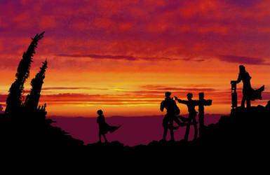 Trigun Sunset