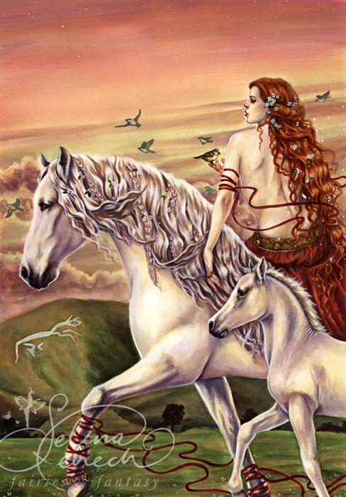 Rhiannon's Ride by SelinaFenech
