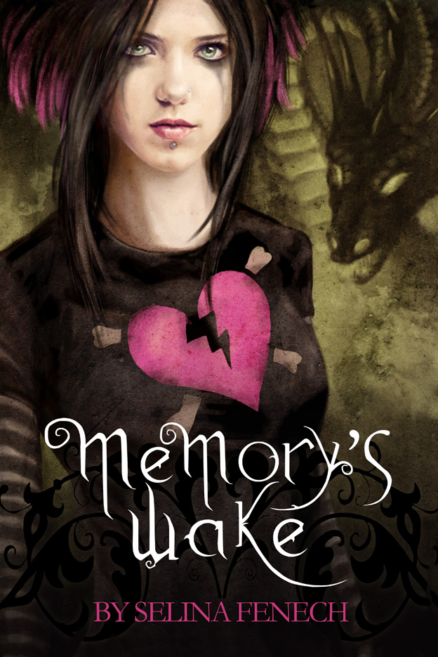 Memory's Wake- Cover Art by SelinaFenech