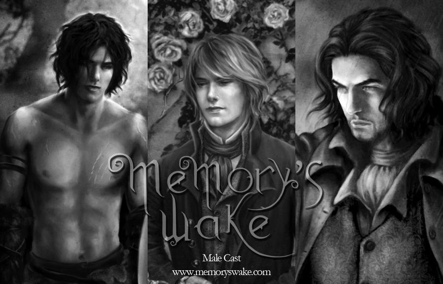 Memory's Wake- Leading Men by SelinaFenech