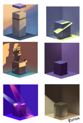 Boxes by Rattish-ra