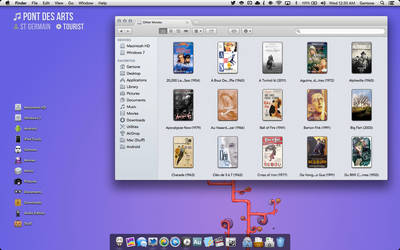 First Screenshot With Mountain Lion...