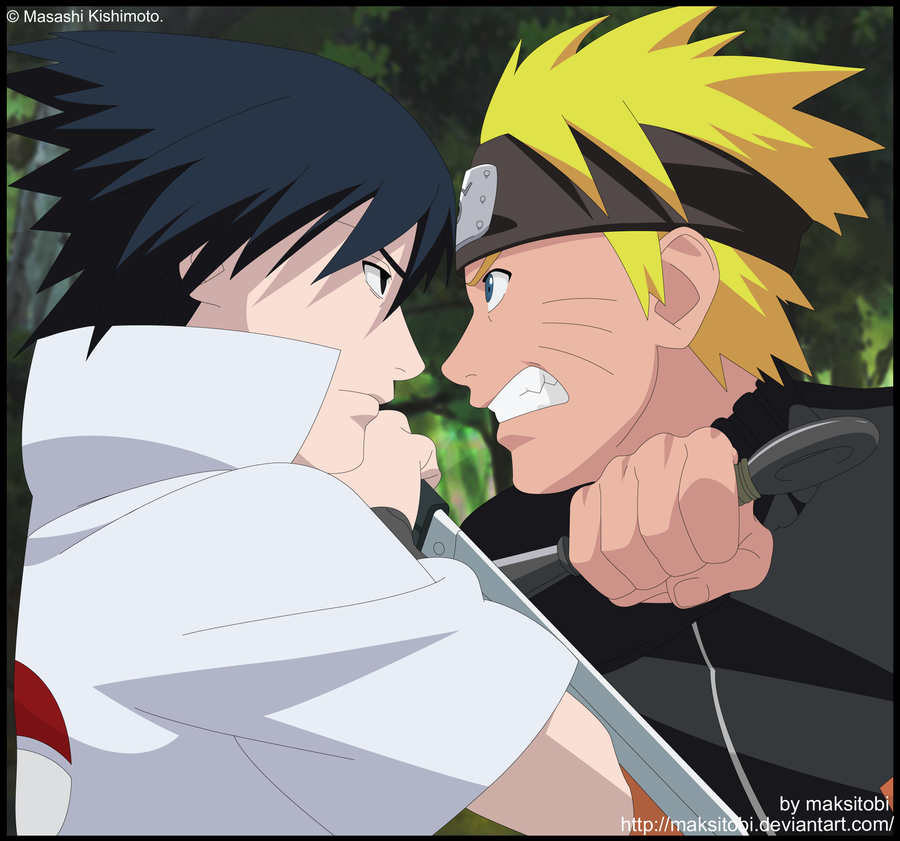 Imagenes de Sasuke y Naruto