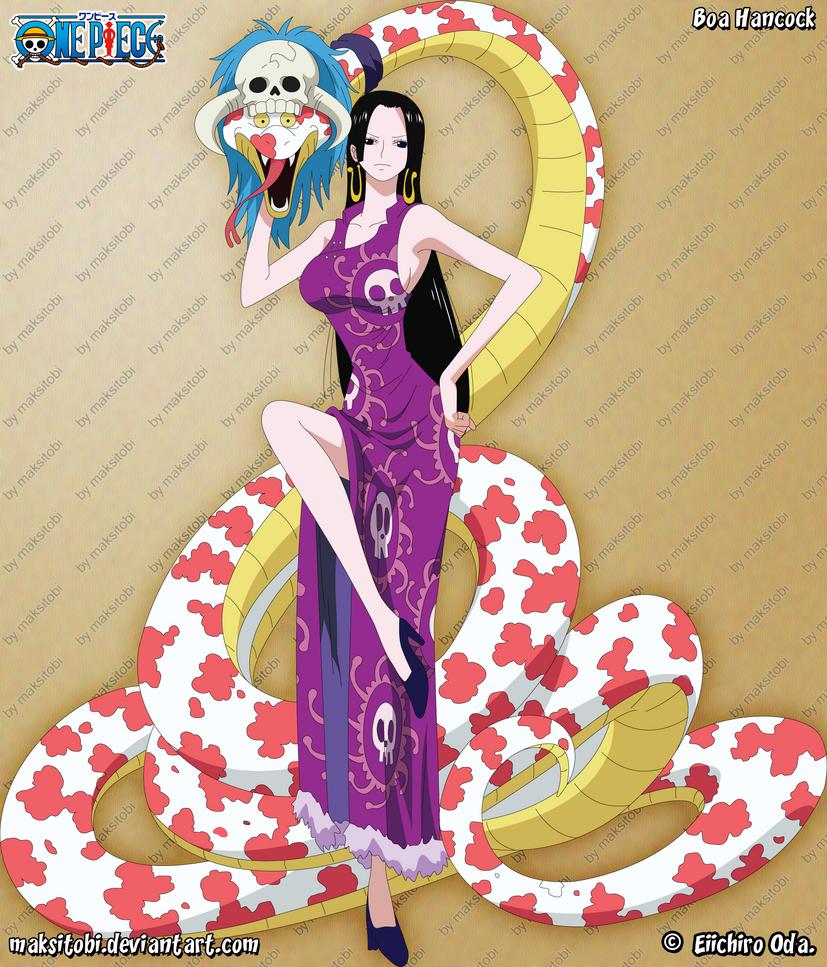 [Top 10] 10 Gostosas dos Animes - Personagens Femininas mais Sexys dos ANIMES Boa_hancock_by_maksitobi-d4f5d2c