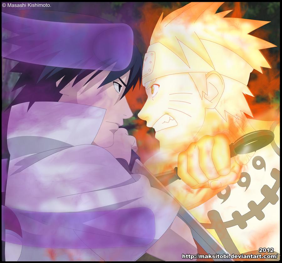 Naruto VS Sasuke by Epistafy