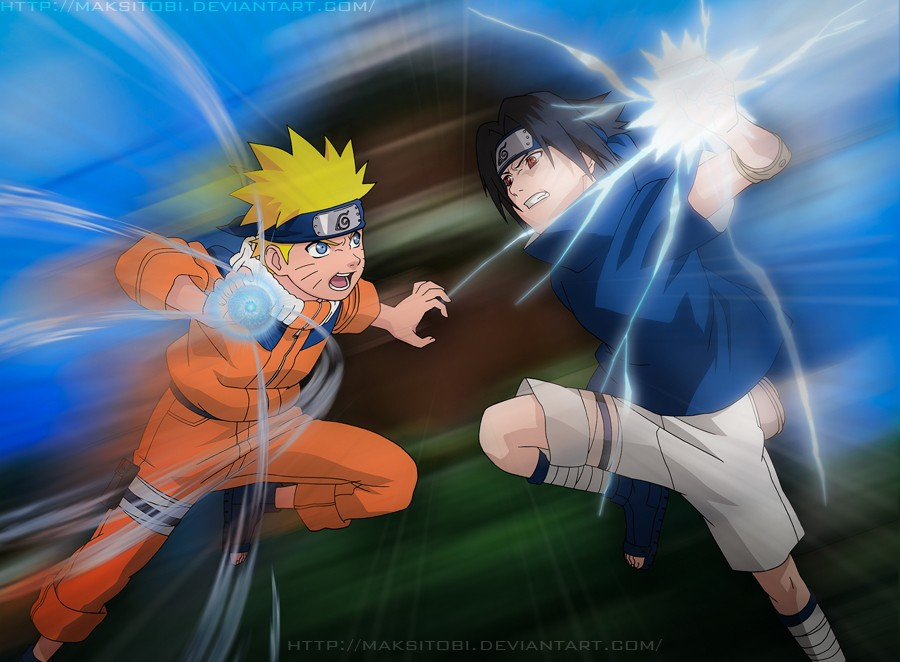 Naruto vs sasuke by epistafy on deviantart - Naruto as sasuke ...