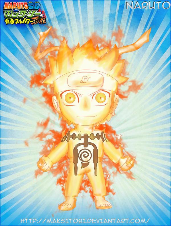9-Tails Chakra Mode Naruto by Epistafy