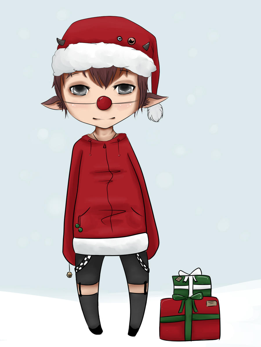 Allan, merry christmas by S1ghtly