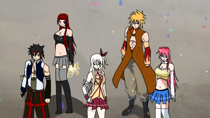 [Gift] Fairy Tail Team B by KagamiMushroom on DeviantArt