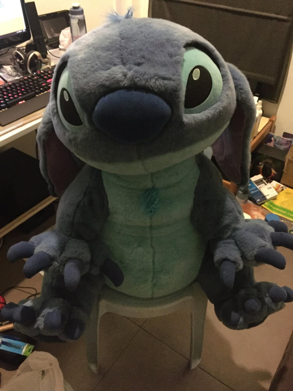 Flounder Stuffed Animal, Giant Stitch As A Dog Plush By Angelicorexx On Deviantart