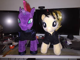 Build a bear songbird serenade and tempest shadow  by angelicoreXX