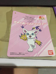 Close up of gatomon tag  by angelicoreXX
