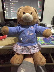 Jessica wearing newborn outfit by angelicoreXX