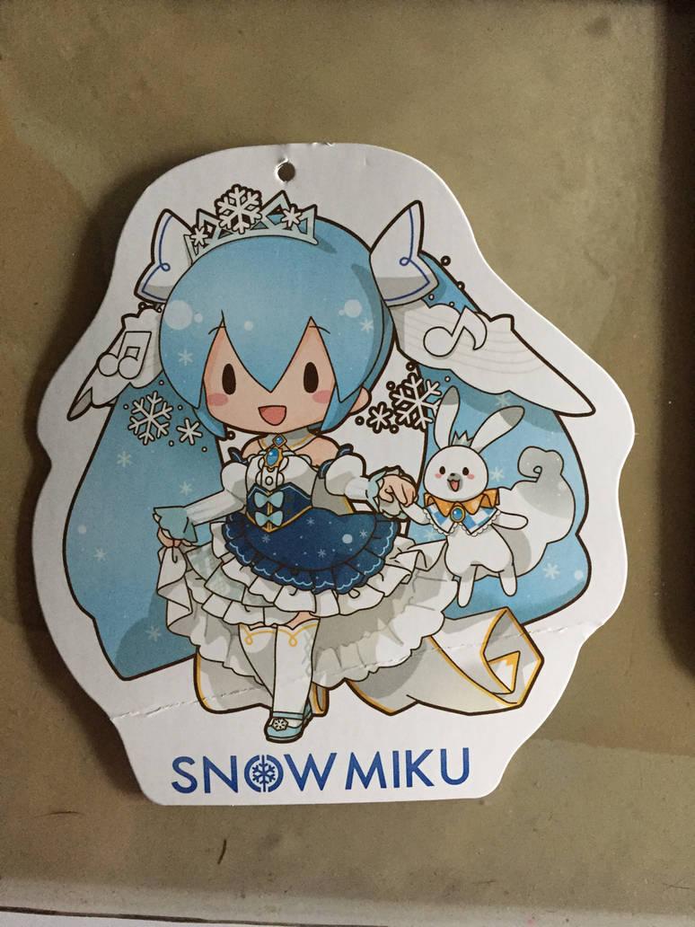 Snow Miku 2019 Tag by angelicoreXX