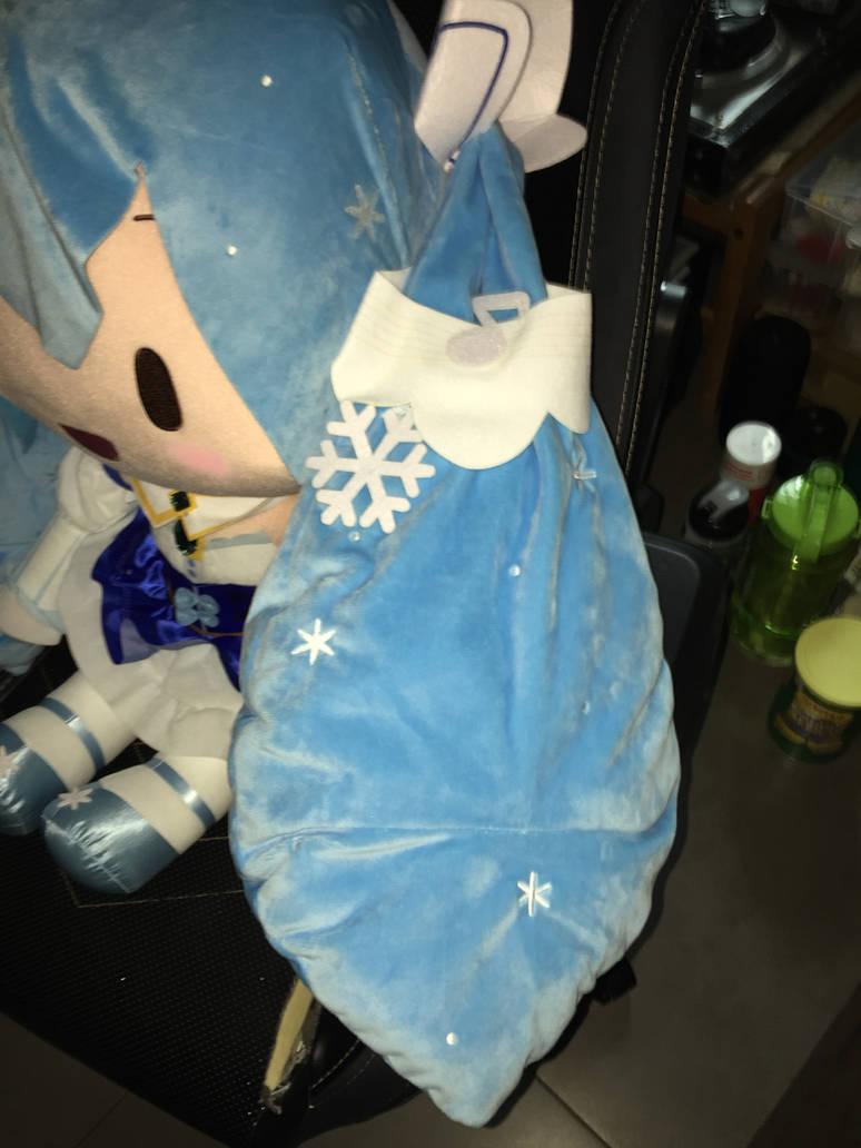Jumbo Snow Miku 2019 Plush (twin tail) by angelicoreXX