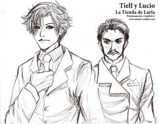 Tiell y Lucio by SarutobiAgito