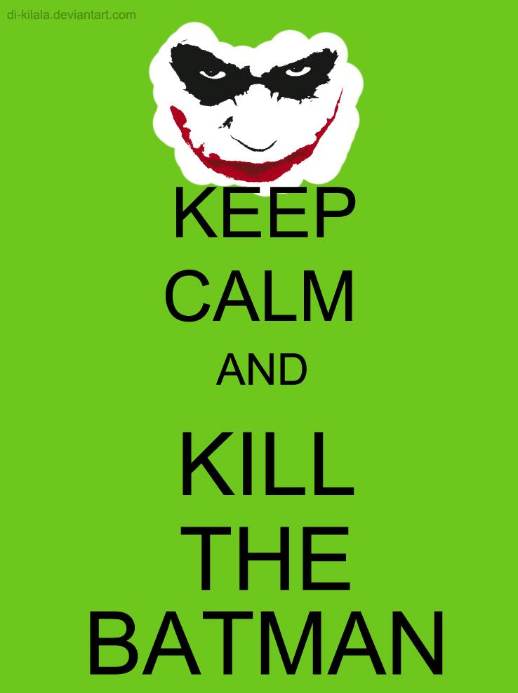 Joker keep calm by di kilala on deviantart for Immagini di keep calm