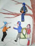 Naruto: Team 7 - Wintertime