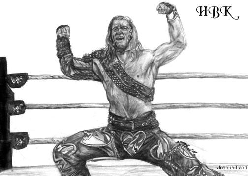 how to draw shawn michaels