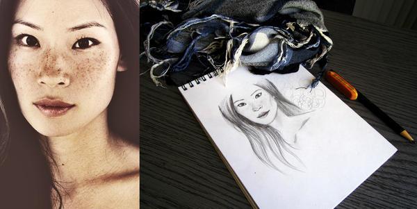 Portrait Marathon: 2 - Lucy Liu by Onestorm ...