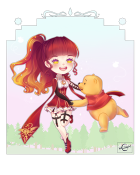 Dancing with Winnie Pooh - Commission 1