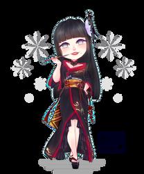 Final fantasy XIV - Yotsuyu Goe  - Commission 2