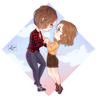 Chibi - Hold my hand - Commission #4