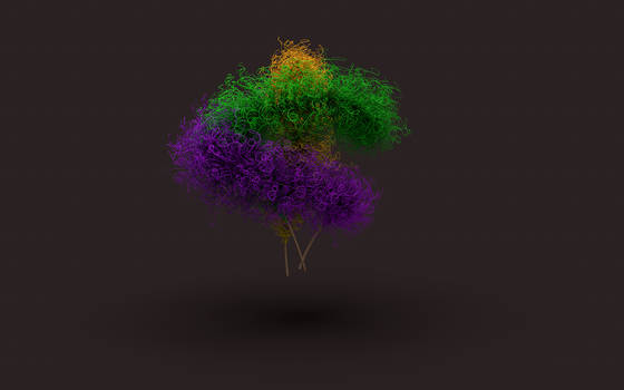3D Games with feather and the hair shader