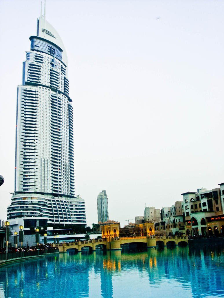 A hotel near burj al khalifa by kiransigma on deviantart for Dubai hotels near burj khalifa
